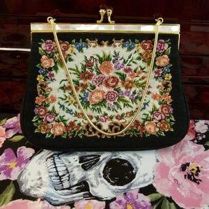 Handbags - Vintage tapestry bag